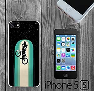 BMX Space Bunny Hop Custom made Case/Cover/skin FOR iPhone 5/5s