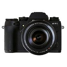 Fujifilm X-T1/XF18-135mm F3.5-5.6 OIS WR - 16 MP Mirrorless Camera & Lens Kit - Black