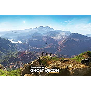 Tomorrow Sunny Ghost Recon Wildlands Game Poster Art Wall Pictures For Living Room In Canvas Fabric Cloth Print