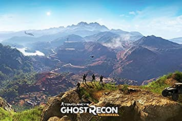 Tomorrow Sunny Ghost Recon Wildlands Game Poster Art Wall Pictures For Living Room In Canvas Fabric