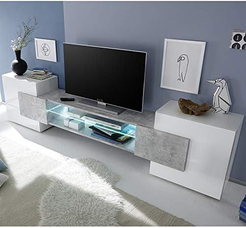 Kasalinea Eros - Mueble para televisor (Acabado Brillante, Efecto ...