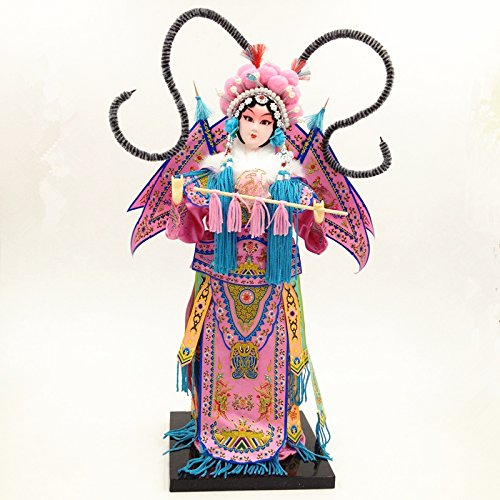 NW Chinese Traditional Handicraft Silk Figurine Collectible Chinese Doll Silk Doll - Doll Chinese Collectible