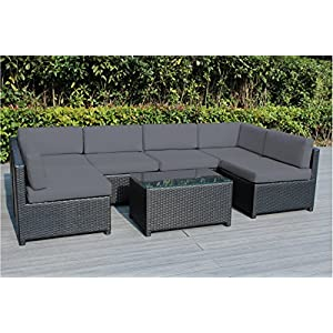 513Zgu4pkWL._SS300_ 100+ Black Wicker Patio Furniture Sets For 2020