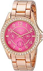XOXO Women's XO177 Analog Display Analog Quartz Rose Gold Watch