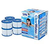 Lay Z Spa Silver Spa Starter Kit - Chemical Starter Pack with Lay Z Spa Filters Size VI