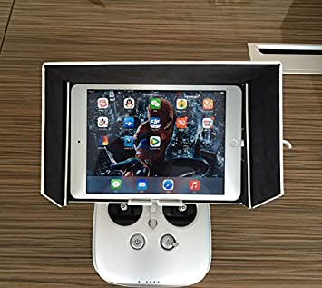 DJI Inspire 1 Phantom 3 FPV Sunshade Sun Hood F Tablet iPad Mini iPad Air iPhone