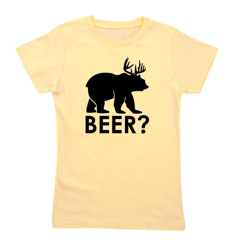 Truly Teague Girls Tee Tshirt Deer Plus Bear Equals Beer!