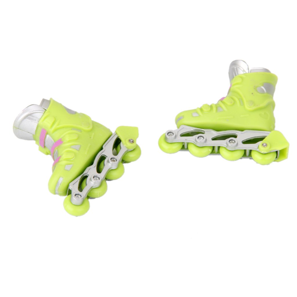 sharprepublic Mini Fingerrollschuhe Finger Roller Skates Mitgebsel Rollschuhe