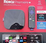 Roku Premiere+ Streaming Media Player (4630X) 4K UHD HDR Bundled with High Speed HDMI Cable, $20 Sling TV credit and $10 FandangoNow credit