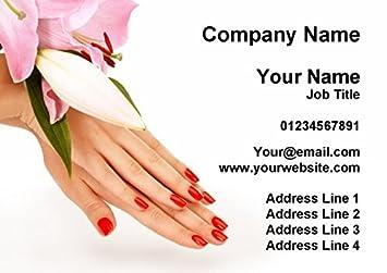 Amazon nail salon manicure pedicure pretty personalized nail salon manicure pedicure pretty personalized business cards colourmoves