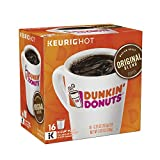 #8: Dunkin' Donuts Original Blend Coffee K-Cup Pods, Medium Roast, For Keurig Brewers, 64 Count