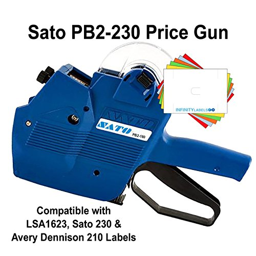 Sato Price Gun: TSA230 (PB2-230) [2 Line / 10/10 Characters] by Infinity Labels
