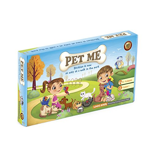 PET ME multiplication and division board game STEM - Toys & Games