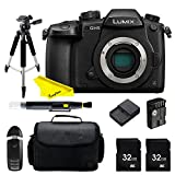 Panasonic Lumix DC GH5 Mirrorless Digital Camera + Buzz Pro Bundle Kit (black) For Sale