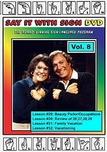 Sign Language Course - Vol. 8