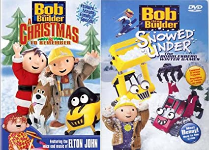 bob the builder a christmas to remember snowed under 2 pack - Bob The Builder A Christmas To Remember