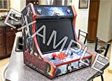 Arcade Cabinet Table or Bartop Arcade Cabinet - Machine Cut Wood - Flat Pack