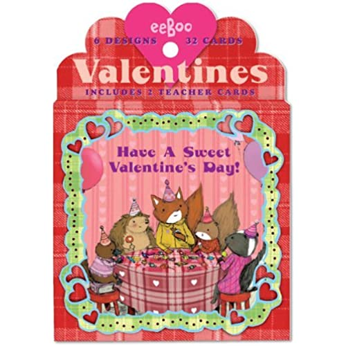 Animal Village Valentine Cards Sales