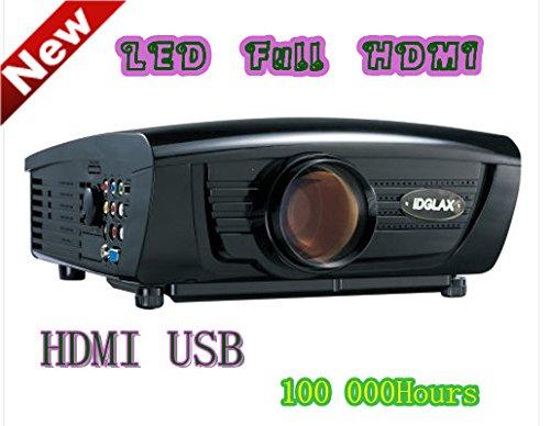 Digital Galaxy HDMI 720P HD Video,  2800Lumens, 5-Inch TFT LCD Panel, 70W LED Lamp LCD Projector (DG-757)