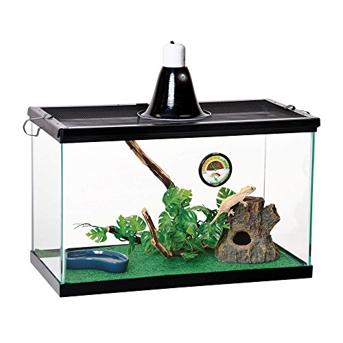 Vertical Tropical Terrarium Kit (Chameleon Glass Cage)