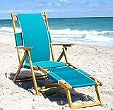 Chaise Style Beach Lounge Chair (Sea Grass)