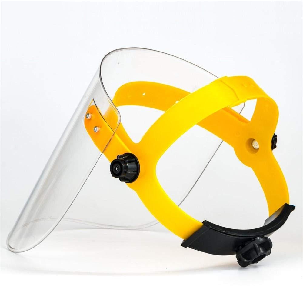 LMWB Casco transparente Máscara de soldadura Dieléctrico antisalpicaduras Protección facial completa Pantalla antichoque del soldador