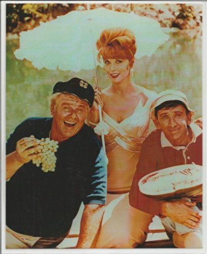 Grape Cast (Gilligan's Island Cast Hanging Out Smiling with Grapes 8 x 10 LAMINATED Photo)