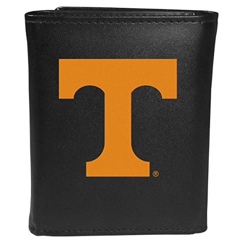 Siskiyou Sports NCAA Tennessee Volunteers Tri-Fold Wallet Large Logo, Black