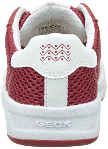 Geox J Rolk E - Zapatillas Niños Rojo (C7000)