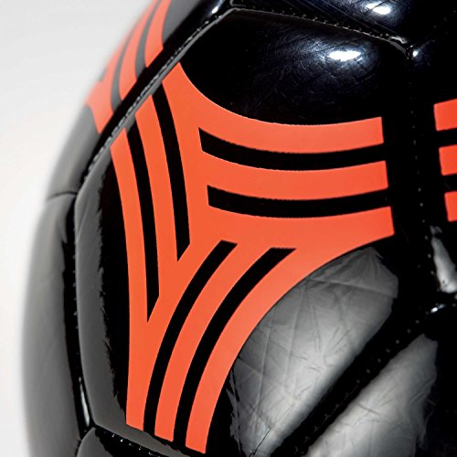 adidas Tango Streetgli Balón, Hombre negro (negro / rojsol)