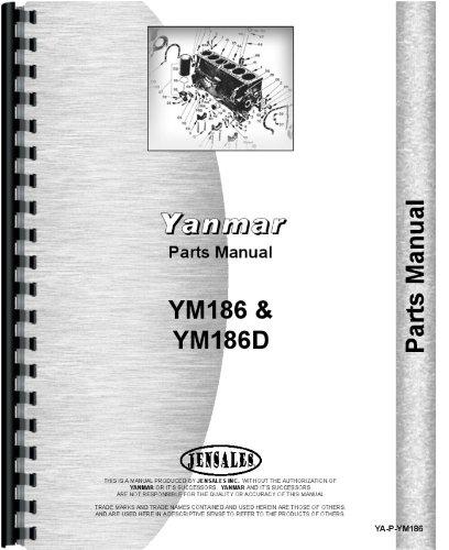 Yanmar YM186 Tractor Parts Manual: Amazon.co.uk: Garden ... on yanmar alternator wiring, ignition switch diagram, diagram of a molded case switch diagram, yanmar ym2200 parts, yanmar starter, yanmar fuel pump diagram, yanmar voltage regulator, yanmar parts catalog, yanmar engine diagram, yanmar tractor, yanmar parts breakdown, yanmar generator, yanmar 3gm30f parts diagram, yanmar wire harness,