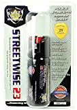 Streetwise Security Products Police Strength Streetwise 23 Pepper Spray, 2-Ounce, Twist Lock
