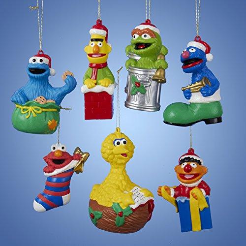 Kurt Adler Sesame Street Christmas Ornaments
