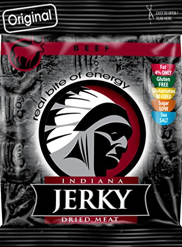 Indiana Jerky Beef Original, 6er Pack (6 x 25 g)