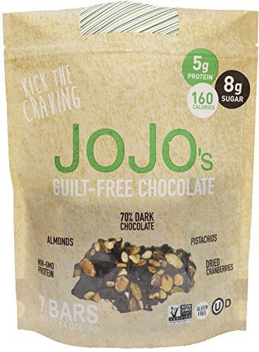 JOJOS Dark Chocolate Bark, 8.4 OZ