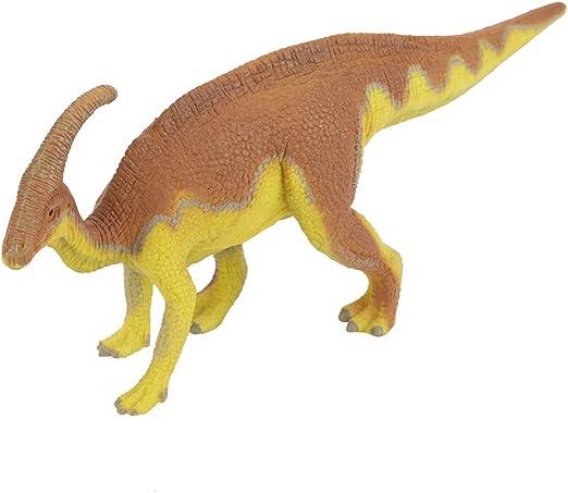 Mini figura realística del dinosaurio, juguetes educativos plásticos del dinosaurio Parasaurolophus de los modelos para los niños de los muchachos y