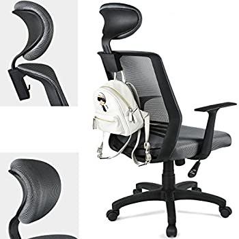 This item Padded Headrest Mesh Swivel Office Chair Recline Height AdjustableAmazon com  Padded Headrest Mesh Swivel Office Chair Recline  . Office Chair Recline. Home Design Ideas