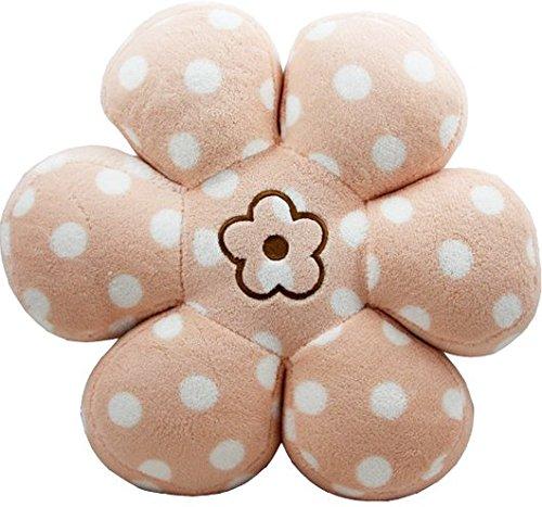 Atolo Polka Dot Flower-shaped Flowers Striped Cushion / Pill