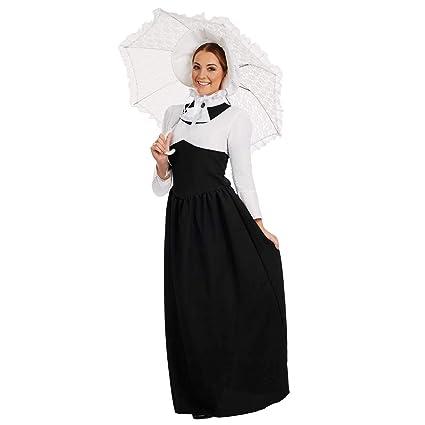 Fun Shack Edwardian Señora - Adulto Disfraz - XXL - 52-54 ...