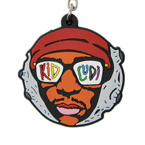 HHKEYCHAINS Kid Cudi Keychain Man on The Moon
