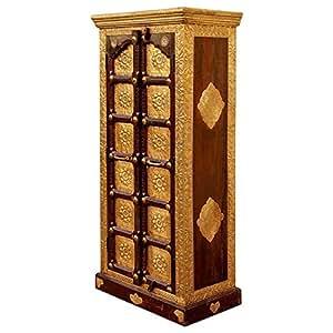 Salalah Wooden Two Door Almira, Brown