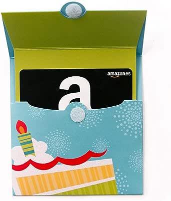 Tarjeta Regalo Amazon.es - Tarjeta Desplegable Cumpleaños: Amazon.es: Cheques Regalo