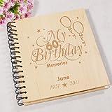 GiftsForYouNow 60th Birthday Memories Photo Album, Holds 72 4'' x 6'' Photos
