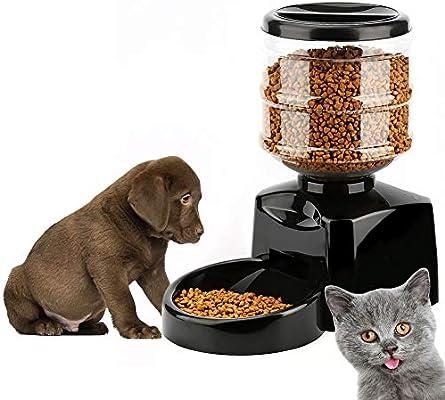 Ydq Gatos Y Mascotas Dispensador De Comidas,5.5 Litro Comedero ...