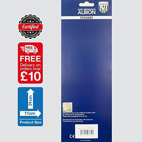 West Bromwich Albion Stickers Street Sign WBA-STK002