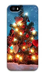 Christmas tree decorations 3D Case fancy iphone 5S case for Apple iPhone 5/5S