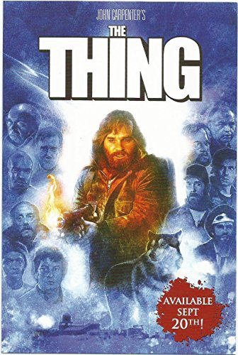 The Thing 4 x 6 inches POST CARD SD Comic Con 2016