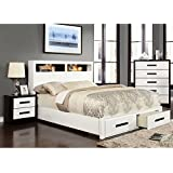 Furniture of America Seleness II Modern Storage Platform Bed California King