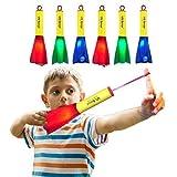 US Sense 6 Pack LED Foam Finger Rockets Glowing