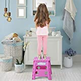 Acko Folding Step Stool - 13 inch Height Premium